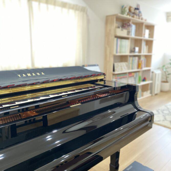 屋根裏部屋のピアノ教室