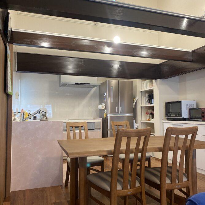 キッチンを明るい場所に大移動